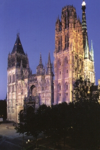 1. Rouen Cathedral, Rouen, France