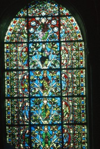 4. Jesse Tree Window, Abbey Church of St. Denis, France