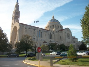 18. Shrine of the Immaculate Conception, View from South, Washington, DC