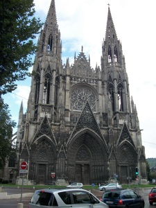 Abbey Church of St. Ouen, Rouen, France