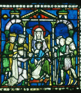 Adoration of the Magi and Shepherds, Canterbury Cathedral, England