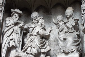 Adoration of the Magi (ca. 1520), Chartres Cathedral, France