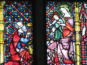 Elder King with Mary and Christ Child (13 ), Cologne Cathedral