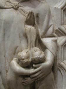 4. Charitas Detail, Giovanni di Balduccio,   National Gallery of Art, Washington, DC