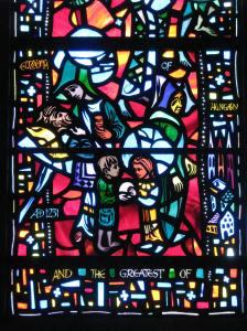 10. St. Elizabeth of Hungary, Humanitarians Window, Washington National Cathedral, DC