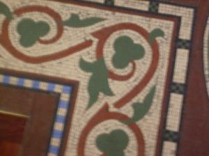 Shamrock Floor Tile, St. Colman's Cathedral, Cobh, Ireland