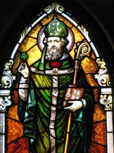 7. St. Patrick Window, St. Wenceslaus Church, Iowa City, IA