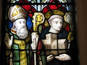 St. Patrick (L) and St. Columba (R), All Saints Cathedral, Milwaukee, WI