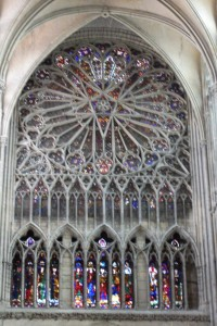 11. Star Rose Window, Amiens Cathedral, France
