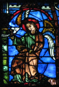 Angel with Basket, Chartres Cathedral, France