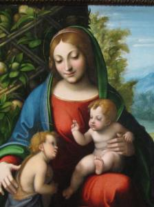 Corregio, Virgin and Child with the Young St. John the Baptist (1515), Art Institute of Chicago
