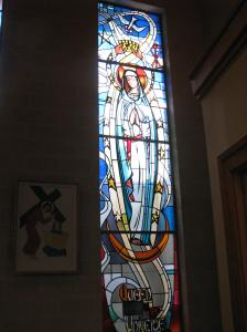 13. Queen of Heaven Window, St. Mary's Church, Storm Lake, IA