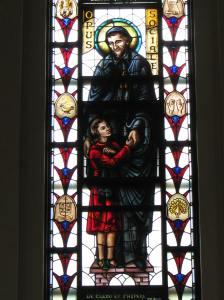 Social Work Window, Loyola University Chapel, Chicago