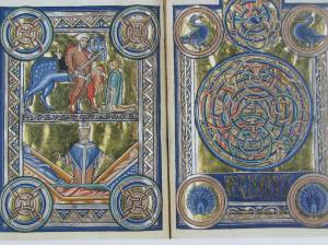 Two Legends of St. Martin in the Berthold Sacramentary, Morgan Library & Museum, NYC