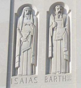 18. Isaiah (left) and Bartholomew; Shrine of the Immaculate Conception, Washington, DC
