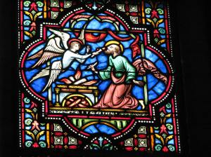 2. Isaiah & Angel, Sts. Michael & Gudula Cathedral, Brussels