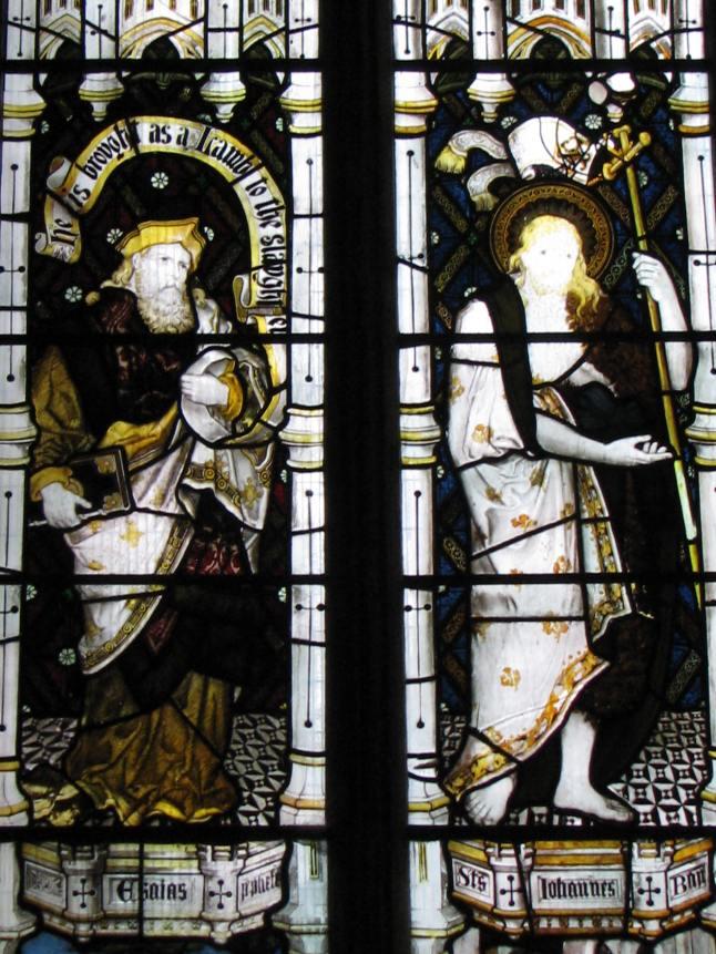 Isaiah & John the Baptist