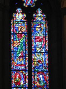 11. Sts. Luke and Thomas with x and Elijah, Washington National Cathedral; Washington, DC