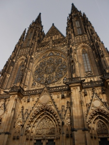 7. St. Vitus Cathedral Facade; Prague, Czech Republic