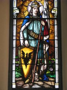 3. St. Wenceslas and Eagle, St. Wenceslaus Church, Iowa City, IA