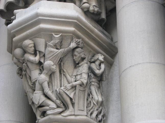 SJD-Joan-Arc Pedestal