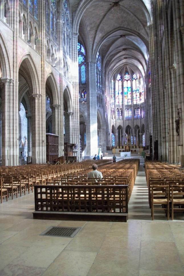 St. Denis Nave