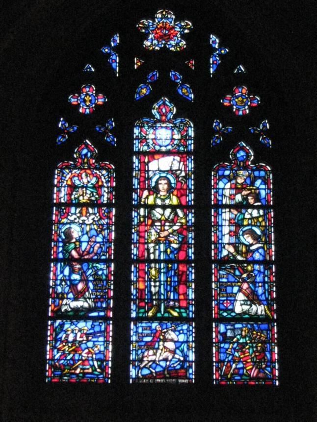 WNC-Joan of Arc Window